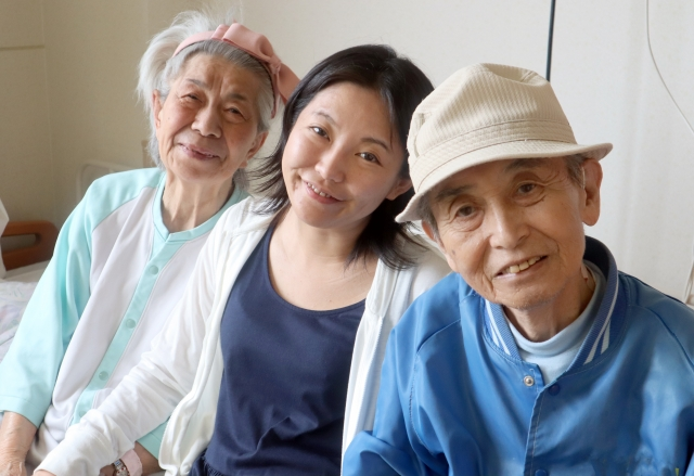 お客様の声、家族写真