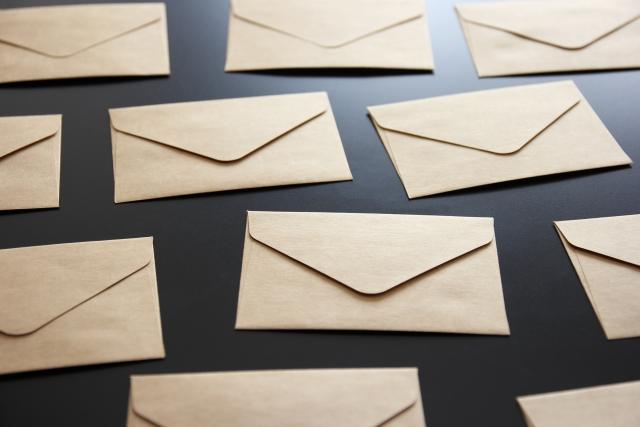 手紙多数 不気味