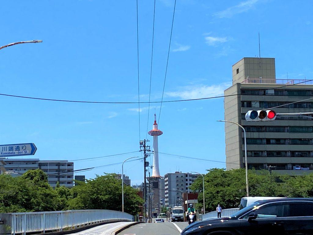 近隣の京都タワー