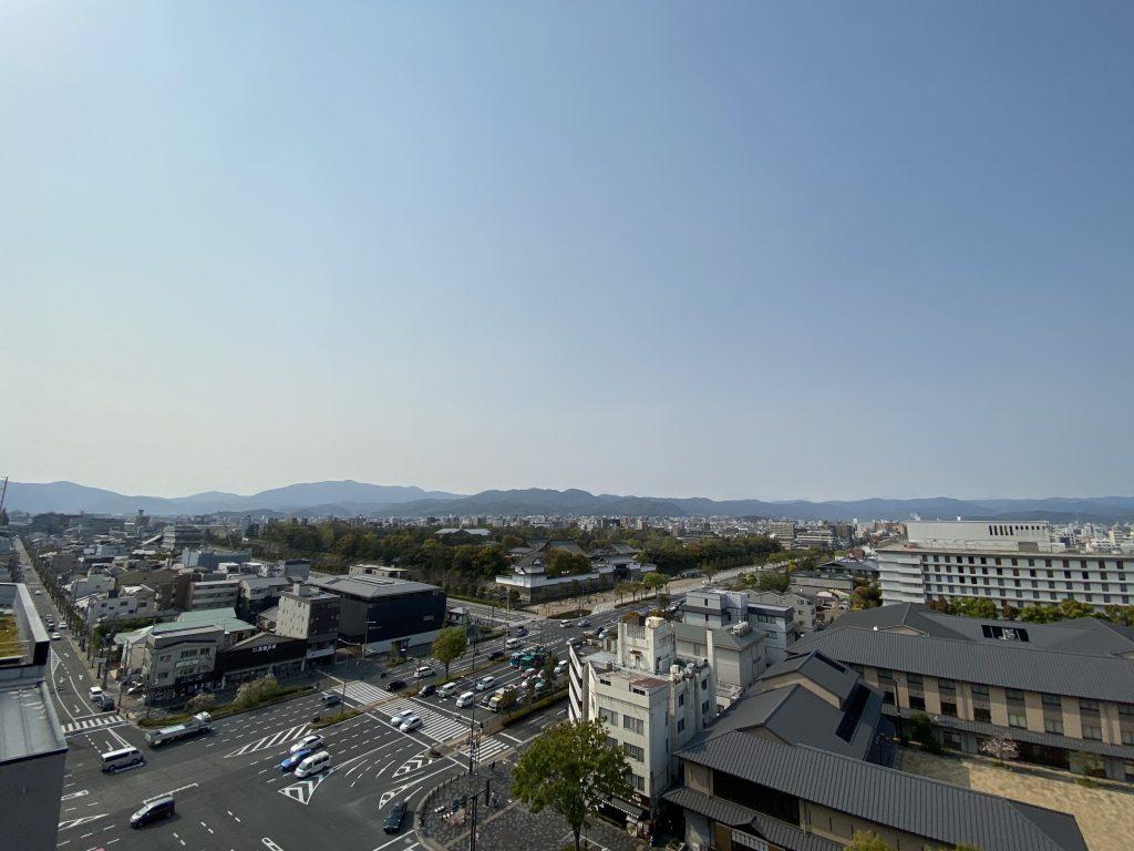 リーガル京都二条城東 眺望